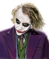 The Joker by dawn-is-dead