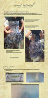 corset dress pattern tutorial by KellaxProductions