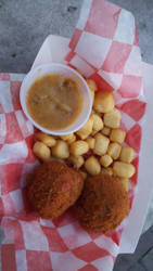 Fried Chicken And Dumpling's- State Fair 2016 by blah1200