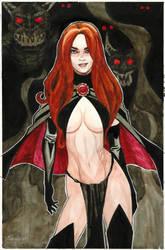 Marvel Comics The Goblin Queen by mikekimart