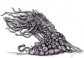 Lovecraft - Shoggoth, Terrastial I by KingOvRats