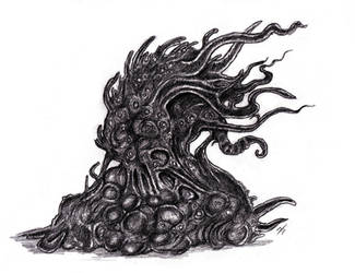 Lovecraft - Shoggoth, Terrastial II by KingOvRats