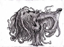 Lovecraft - Cthulhu, Great Old One by KingOvRats
