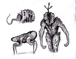 Dream Fungal Creatures by KingOvRats