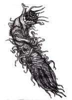 Lovecraft - Generic Other God/Other God Larva by KingOvRats