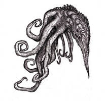 Lovecraft - Octopus Creature, Witch House by KingOvRats