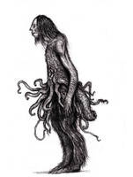 Lovecraft - Wilbur Whateley II by KingOvRats