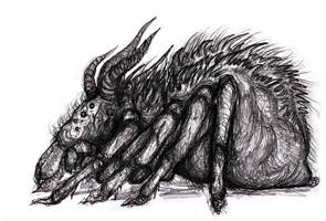 Middle Earth - Shelob, Ungoliant Brood Spider by KingOvRats