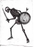 Undead, Skeleton by KingOvRats