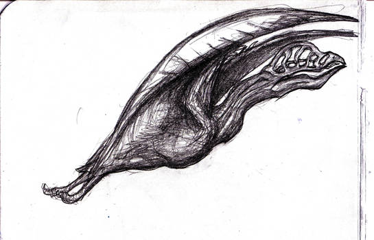 Dream Hollow Head Pterosaur by KingOvRats