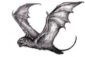 Vampire Bat, Thuringwethil by KingOvRats