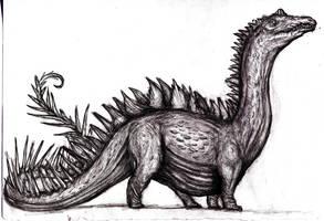 Conan - Hyborian Forest Dragon, Retrosaurus by KingOvRats