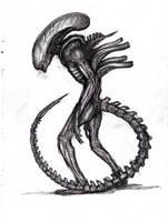 Giger's Alien, Xenomorph 2 by KingOvRats