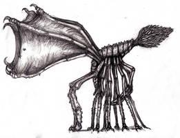 Lovecraft - Mi-Go, Alternate by KingOvRats