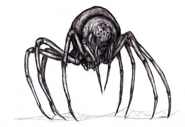 Anansi the Spider/Smith - Atlach-Nacha, Spider God by KingOvRats