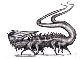 Smith - Orpod, Antarean Mammalian Serpent by KingOvRats