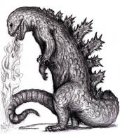 Godzilla, Kaiju by KingOvRats
