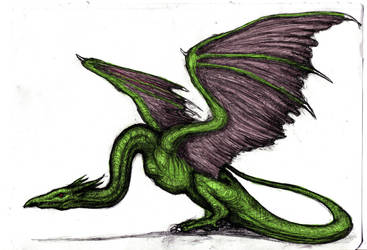 Heroes III - Wyvern (Colored) by KingOvRats