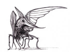 Pteroinsectoid by KingOvRats