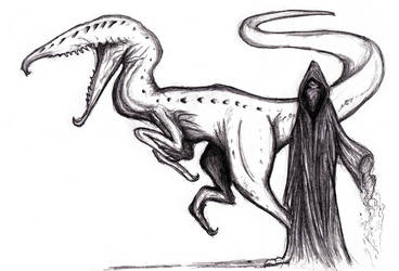 Dream Sandman and Synthesaurus by KingOvRats