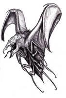 Flying Monster/ Earthsea - Servant of the Stone by KingOvRats
