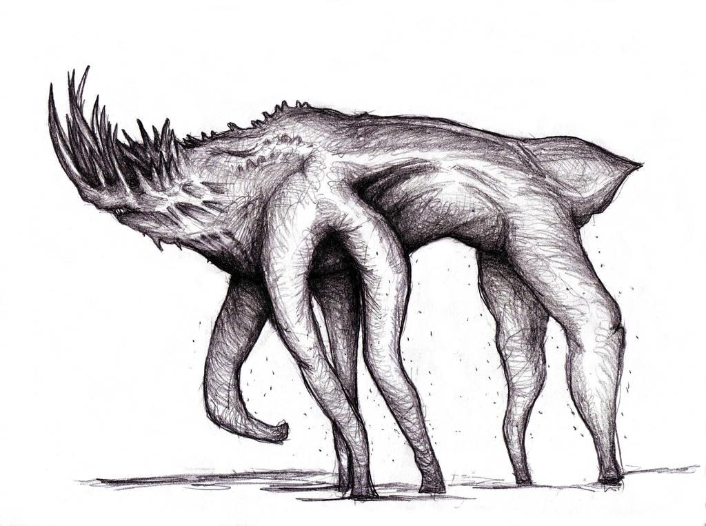 King Mist Creature Behemoth By Kingovrats On Deviantart