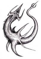 Shark Monster, Neptune by KingOvRats