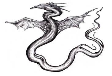Red Phoenix Dragon (Dream) by KingOvRats