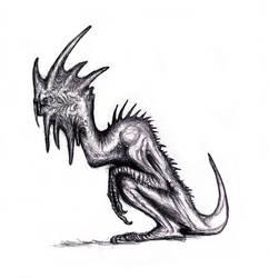 Dream Basilisk-Gargoyle by KingOvRats