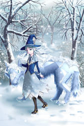 Halloween 2018 - Witch of frost Gladis by Tio-Cao