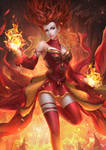 The Fire Witch by Sendolarts