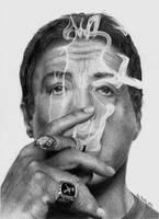 Sylvester Stallone by martakazik