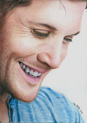 Jensen Ackles by martakazik
