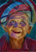 Old  Woman by martakazik