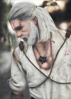 Geralt of Rivia (Maul Cosplay) by martakazik
