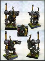 Black Orc Overseer by Endakil