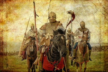 Late Roman cavalry in Britain by Endakil
