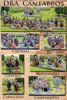 Celtiberian army in 15mm by Endakil