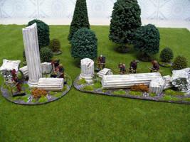Fallen columns by Endakil
