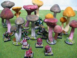 Giant fungus by Endakil