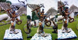 Uriel, guardian angel by Endakil