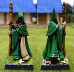 Elf wizard by Endakil