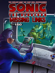 SONIC THE HEDGEHOG: MISSING LINKS ISSUE 160 COVER by Nintrendodude