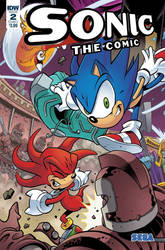 what-if: IDW Publishing Revives Sonic The Comic 2 by Nintrendodude