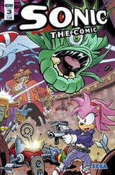what-if: IDW Publishing Revives Sonic The Comic 3 by Nintrendodude