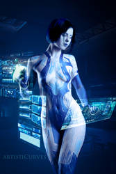 Cortana - Halo by oldmacman
