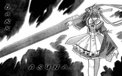 Dark Asuna by privatemeta