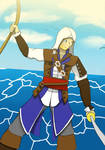 King of the Pirate Edward Kenway by Paladin0