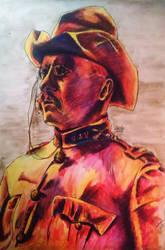 Teddy Roosevelt Rough Rider by nthomas-illustration