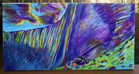 Niagara Falls by nthomas-illustration